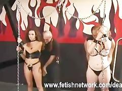 arse spanking lesbo honeys