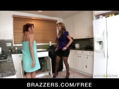 big-boob redhead tenant bonks breasty blond
