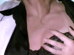 a hot patient has lesbo sex in her night dreams