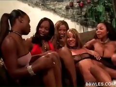 harlots fucking in darksome lesbian groupsex