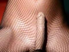luxury model masturbating in hose