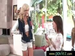 hawt exotic lesbos have a fun threesome cookie