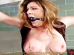 twisted nurse plays with a pain doxy