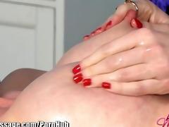 allgirlmassage beautiful lesbo fake penis sex