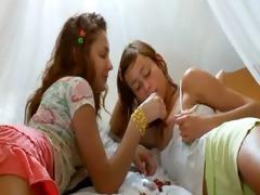 crazy russian lesbian wet crack eating