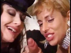 jessica rizzo three-some and lesbo