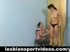 lesbo sports session