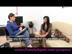 femaleagent. charming web camera model steals the