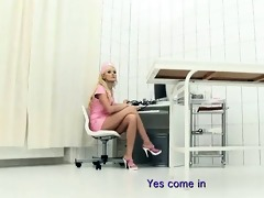 wicked golden-haired playgirl comes to the doctor