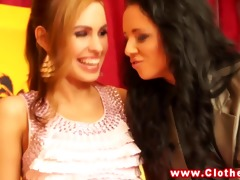 rich euro ladies upper class lesbo some