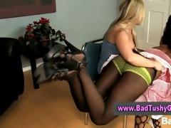 pretty girls punishing ally