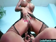 naughty lesbians punishing beauty with sextoy sex