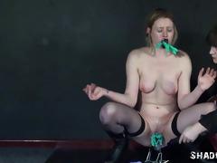 lesbo slavegirl sam west punished and abused