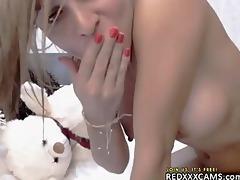 legal age teenager fingering twat webcam show