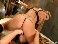 sexy beauty acquire castigate with fake penis