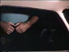 lesbos in car