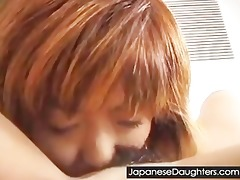 youthful lesbo japanese daughters having lesbo sex