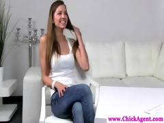 lesbo casting director wants model nude