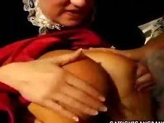 great fetish coarse lesbo action