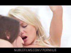 nubile films - lesbo trio leaves girlfriends