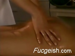massage turns into a lesbo fuck session episode