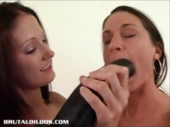 hailey fucking alissa with a large darksome