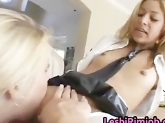 lesbo doxy receives butt stuffed with toys part8