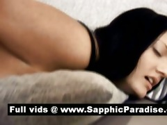 noira and lindsey hot lesbians toying twat with a