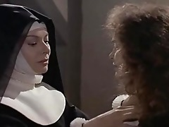 anne heywood and martine brochard in the nuns of