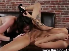 goth fetish lesbians fuck
