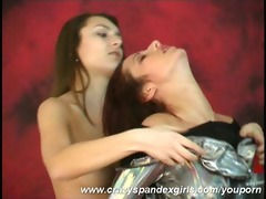 lesbo spandex games