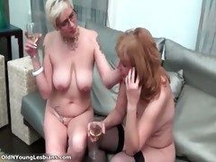 lascivious aged lesbians are drinking part1