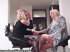 blond aged wife seduces part11