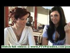 rita and madeline non-professional lesbo pair