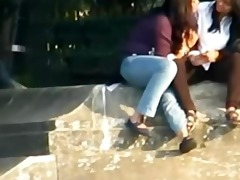 indian - lesbos smooch publicly