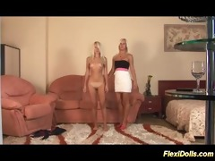 cute real lesbo flexi doll pleasure