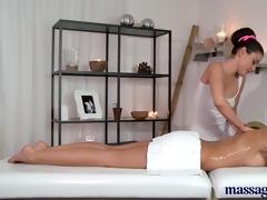 massage rooms breathtaking blond has intensive