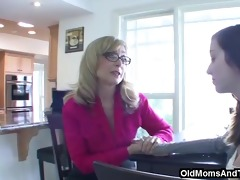 getting willing for college pleasure with stepmom