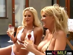 slutty lesbo milfs amazing fingering and licking