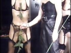 lesbo beauties castigation party