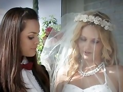 marvelous lesbo brides