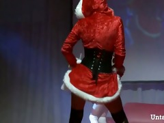 mrs. santa claus strippers getting impure