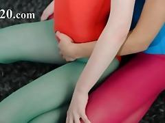 hirsute lesbos in nylon panties erotica