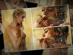 nicole heat - astonishing lesbo scene!