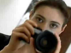 alyssa milano - lesbo photo discharge
