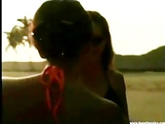 lesbo sex by the beach