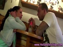 dutch hooker eats out lesbian