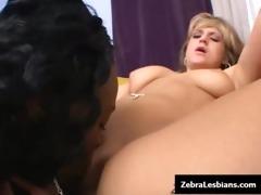 zebra lesbian gals - ebon lesbo chicks fuck