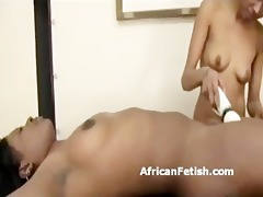 bound up dark lesbo is to agonorgasmos with a