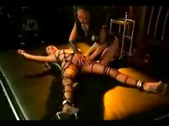 oriental roped and caressed